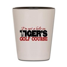 Tiger's Golf Course Shot Glass