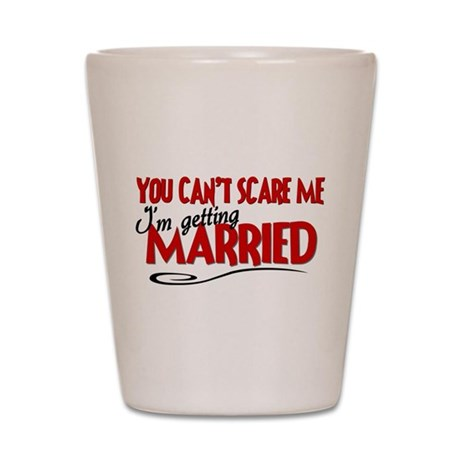 Getting Married Shot Glass