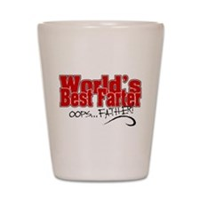 World's Best Farter (oops.. FATHER!) Shot Glass