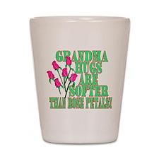Grandma Hugs Shot Glass