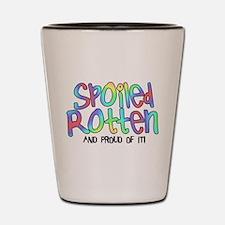 Spoiled Rotten Shot Glass