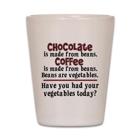 Chocolate & Coffee Shot Glass