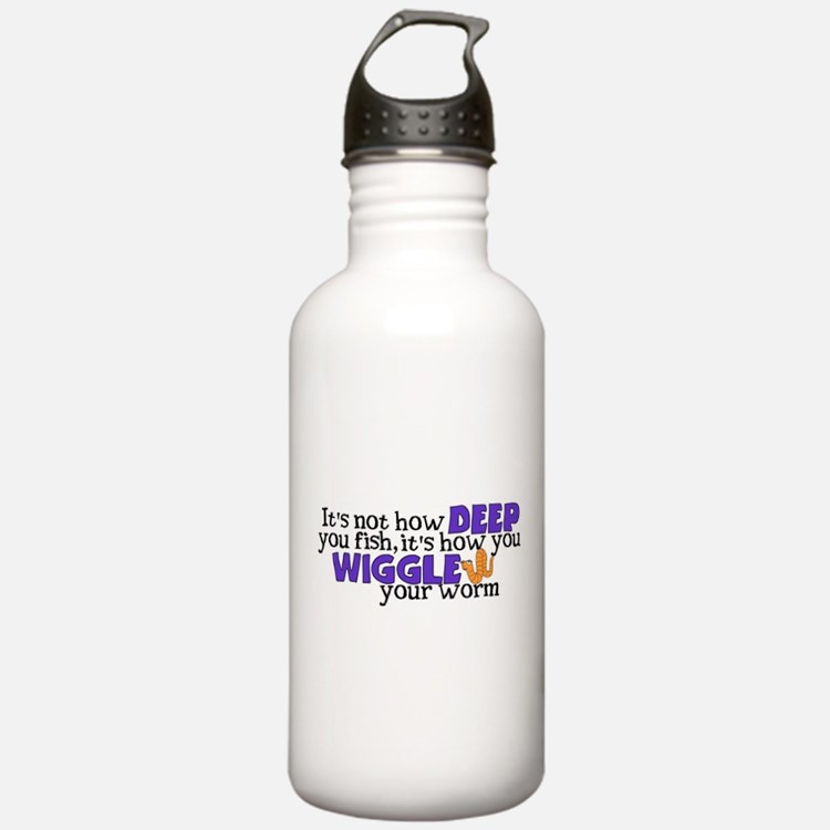 Wiggle your worm Sports Water Bottle