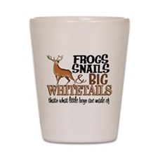 Big Whitetails - Little Boys Are Made O Shot Glass