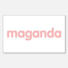 Maganda Rectangle Decal