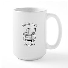 Housework Avoider Large White Mug