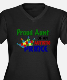 Proud Of My Autistic Prince Plus Size T-Shirt