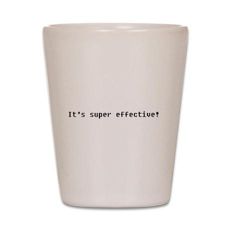 It's Super Effective Shot Glass