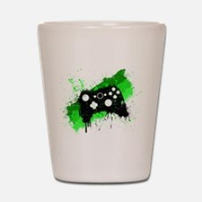 Graffiti Box Pad Shot Glass