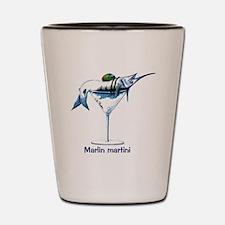 Marlin Martini Shot Glass