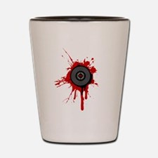 Blood On The Platter Shot Glass