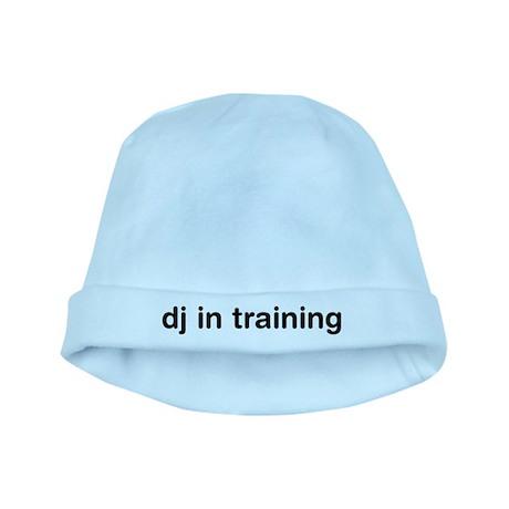DJ In Training baby hat