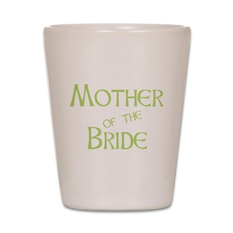 Sherbet Mother of the Bride Shot Glass