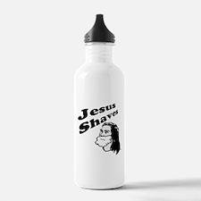 Jesus Shaves Water Bottle