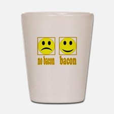 Hoo-Ray For Bacon Shot Glass