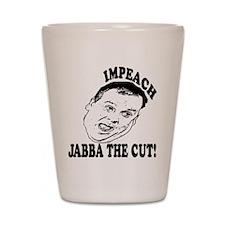 Impeach Christie Shot Glass