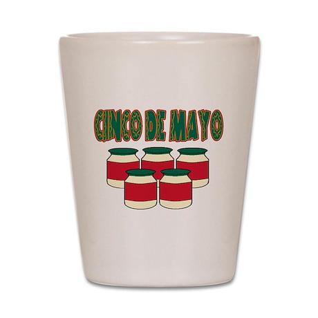 Cinco De Mayo! Shot Glass