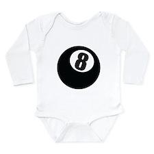 8 Ball Long Sleeve Infant Bodysuit