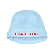 I Hate You! baby hat