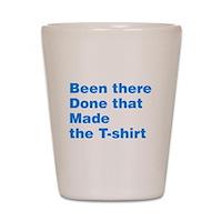 Made The T-shirt Shot Glass