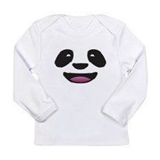 Panda Face Long Sleeve Infant T-Shirt