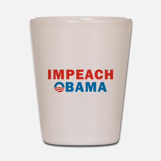 Impeach Obama Shot Glass