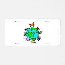 Animal Planet Rescue Aluminum License Plate