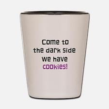The Dark Side Shot Glass