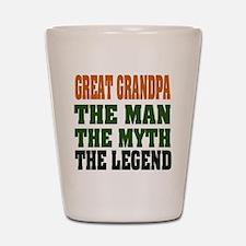 Great Grandpa - The Legend Shot Glass