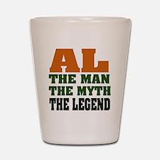 AL - The Legend Shot Glass