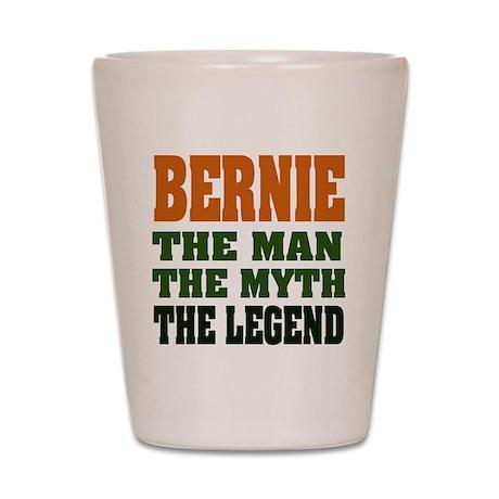 BERNIE - The Legend Shot Glass