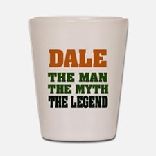 DALE - The Legend Shot Glass