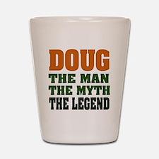 DOUG - The Legend Shot Glass