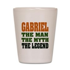 GABRIEL - the legend! Shot Glass