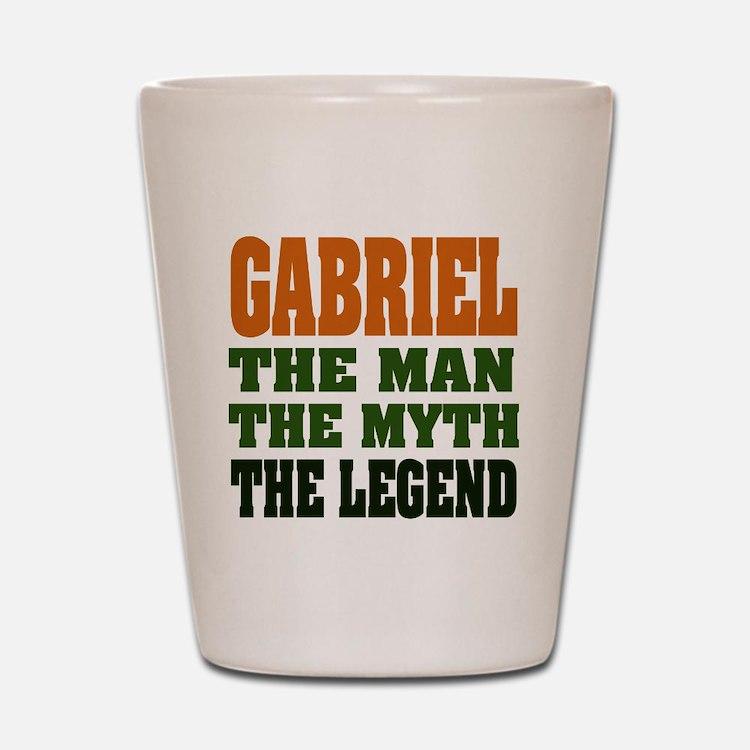 GABRIEL - the legend! Shot Glass