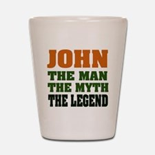JOHN - The Legend Shot Glass
