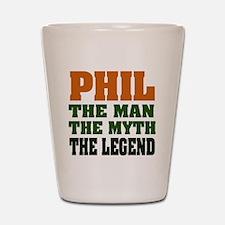 PHIL - The Legend Shot Glass