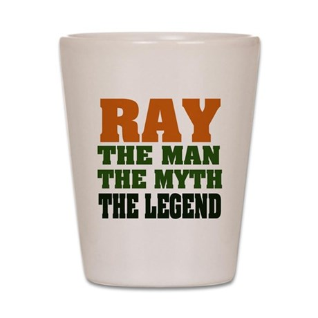 RAY - The Legend Shot Glass