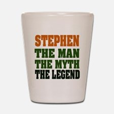 STEPHEN - the legend Shot Glass