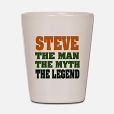 STEVE - The Legend Shot Glass