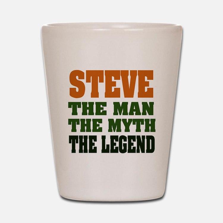 STEVE - The Legend Shot Glass