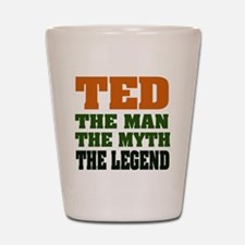 TED - The Legend Shot Glass