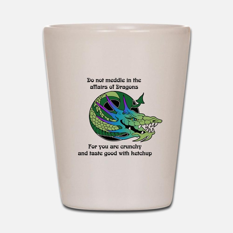 Dragon Crunchies Shot Glass