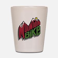 Mountain Bike 2 Shot Glass