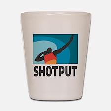 Shotput Shot Glass