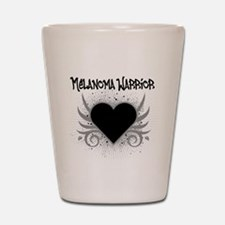 Melanoma Warrior Shot Glass