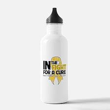 InTheFightChildhoodCancer Water Bottle