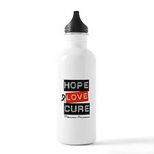 Melanoma HopeLoveCure Water Bottle