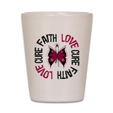 Multiple Myeloma Faith Shot Glass