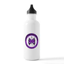 Leiomyosarcoma Survivor Water Bottle